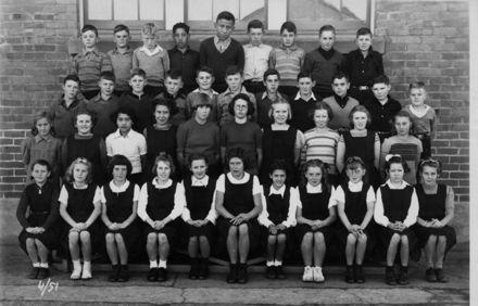 Foxton School, Class 4 (?), 1951