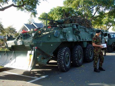 Army presence