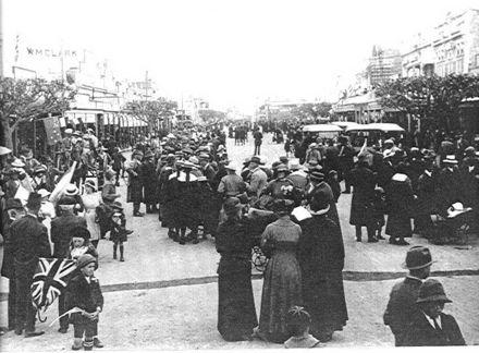 Armistice Day, Levin, 1918