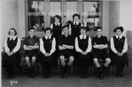 Foxton School, Secondary Class 2 (?), 1952