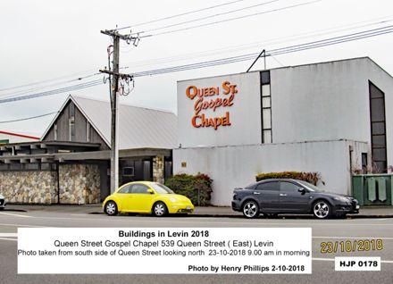Queen Street Gospel Chapel 539 Queen Street, Levin 2018