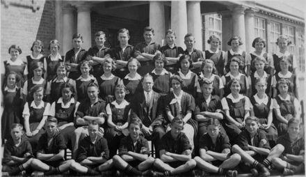 Foxton District High School Pupils 1930s