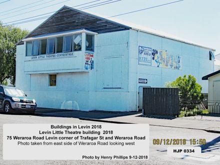 Levin Little Theatre building  2018 75 Weraroa Road  Levin 9-12-2018