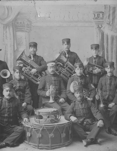 Foxton Brass Band, c.1910