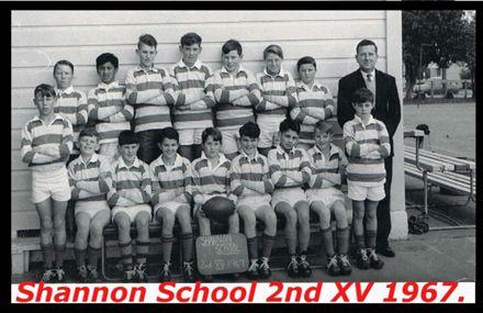 Shannon School 2nd XV 1967