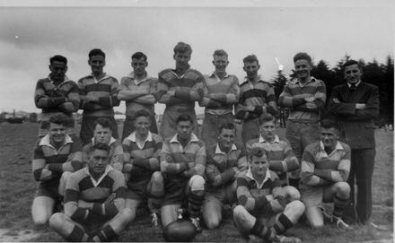Foxton Senior Football Team c.1950