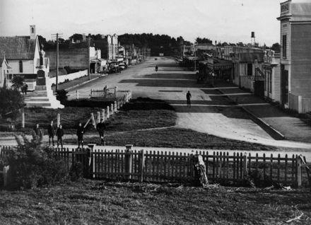 Main Street, Foxton c.1920