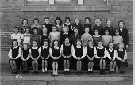 Foxton School Class 8 (?), 1951