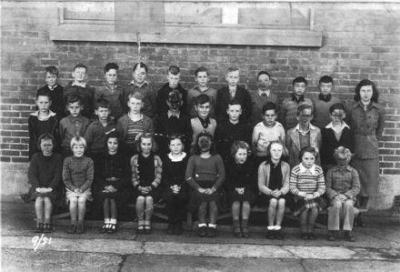 Foxton School Class 9 (?), 1951