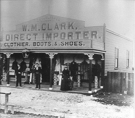 W.M. Clark's New Shop