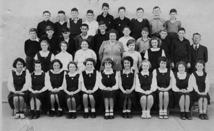Foxton School, Class 12 (?), 1952