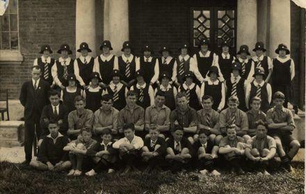 Foxton School Pupils 1928