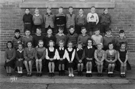 Foxton School Class 10 (?), 1951