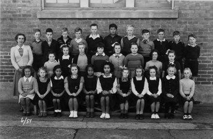 Foxton School Class Room 6 (?) 1951