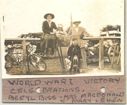 1918 End of War celebration