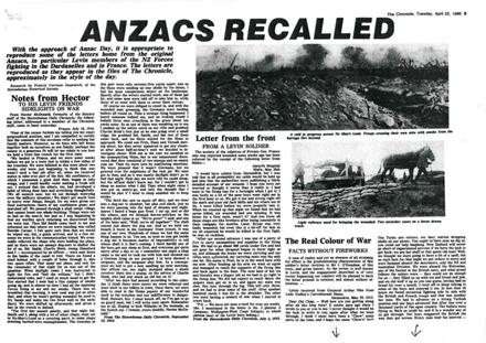 ANZACS Recalled