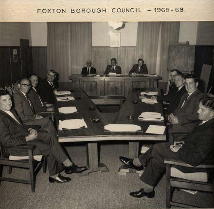 Foxton Borough Council 1965 - 68