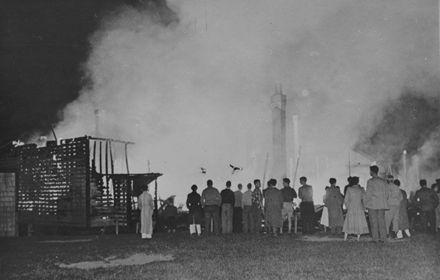 Manchester Street School Fire, 1954