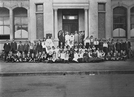 Feilding Technical School Pupils, 1917