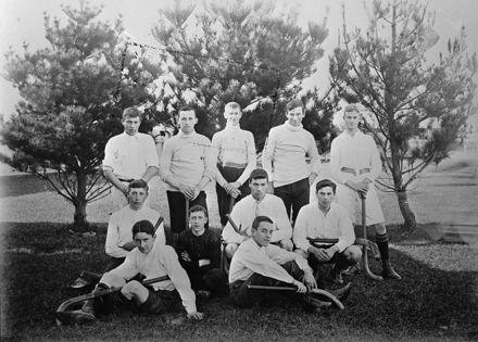 Feilding Hockey Team, 1907.