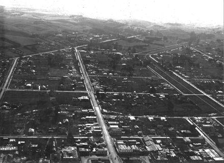 Aerial Photograph of Feilding