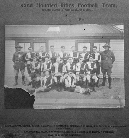 42nd Mounted Rifles football team