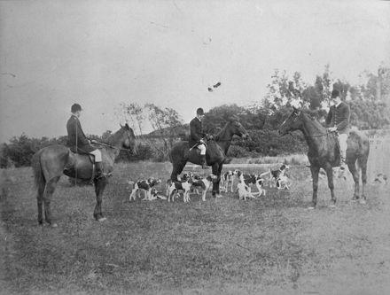 Feilding Hunt Club meeting
