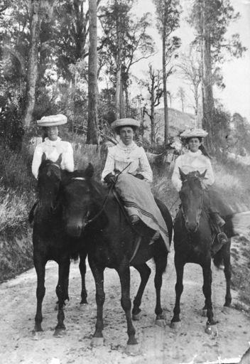Ladies Riding Sidesaddle