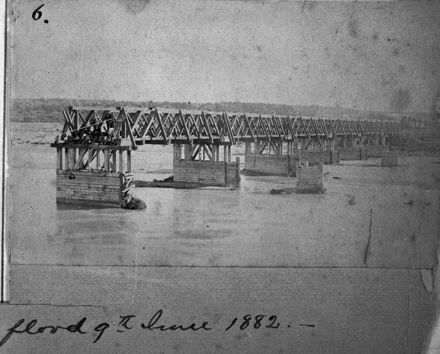 Oroua River Flood, c. 1882