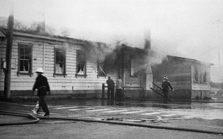Feilding Railway Station fire - 1960 : 21-10