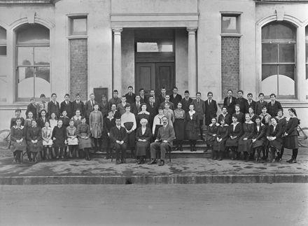 Feilding Technical School pupils 1918