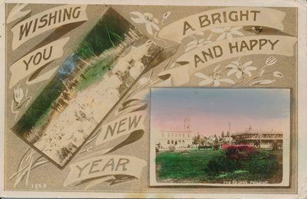 Feilding New Year Postcard