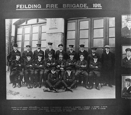 Feilding Fire Brigade 1911