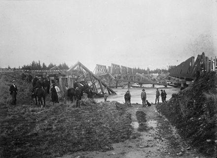 Oroua River flood - 1896 23-7