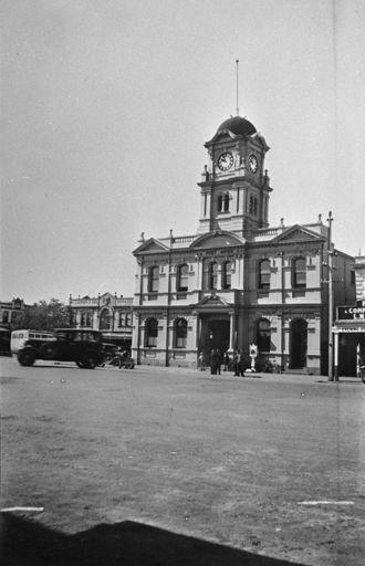 Feilding Post Office, c. 1930's