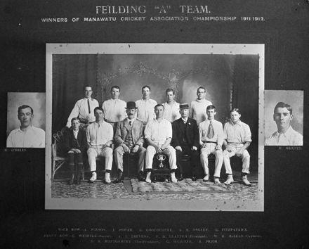 Feilding Cricket Team, c. 1911