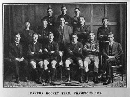 Pakeha hockey team