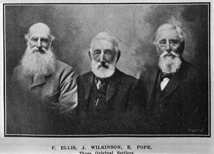 Three Original Settlers