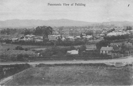 Panoramic View of Feilding