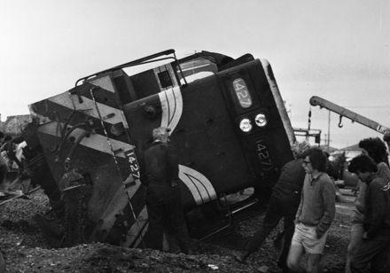 Feilding Railway Accident, c. 1976