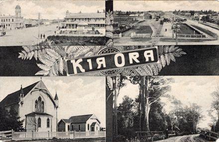 Kia Ora Postcard from Feilding