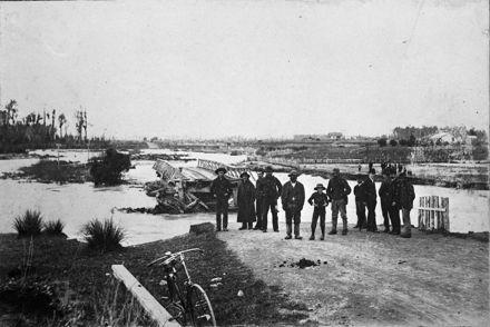 Floods - Kiwitea Stream