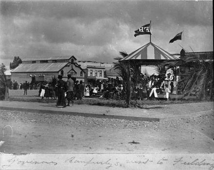 Visit of Lord Ranfurly, c. 1898