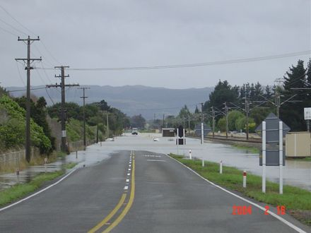 Flood 2004 - Campbell Road