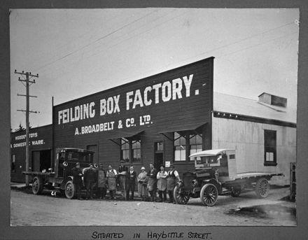 Broadbelt and Co. - Feilding box factory