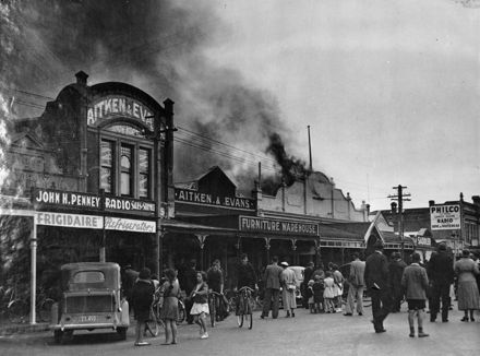 Wackrill and Maguire's fire - 1937