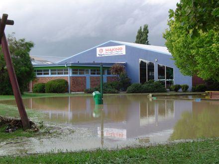 Flood 2004 - Makino Aquatic Centre