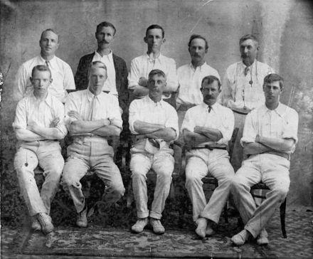 Feilding & District Association Representative Team, c. 1911