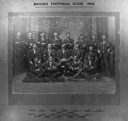 Makino Football Club, c. 1904