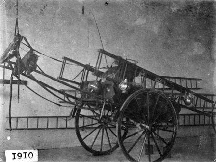 Horse Drawn Fire Engine, 1910